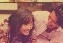 """Hana Yori Dango / """"According to the horoscope, we're both Saturnians. I think, during happiness, and hardships, we live life together."""""""