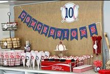 Host a World Series Party / Hit a home run during your game day celebration with these fun decorations and recipes.