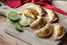 Latijns-Amerika / In deze regio vind je vaak gerechten met gehakt en vis, maar ook gevulde empanadas of vleesschotels met rijst.