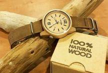 You buy a watch, we plant a tree! / Sélection de montre homme et femme en bois 100% Naturel