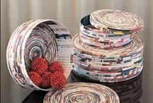 DiY Idee di carta e cartone / DiY Ideas of paper and cardboard