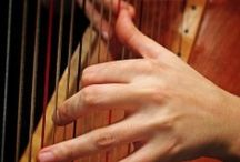 Harp / It is my last name after all, so I must honor this lovely musical instrument!