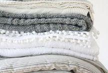 Makuuhuone / White and cozy