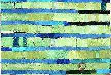 Cool Abstracts / Abstracts in cool tones
