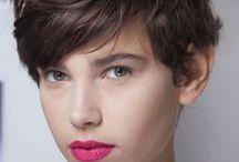 SHORT HAIRED // COUPE COURTE FEMME / Ideas for short haired  //  Des idées de coiffure pour cheveux courts