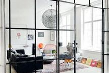 WINDOW WALL // VERRIERE / Fit out a window in home //  Aménager une verrière dans sa maison