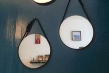 MIRRORS // MIROIRS, MIROIRS / Mirrors at home  // Passion miroirs
