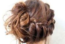 BRAIDS // TRESSES / Braids and crowns  // Idées de coiffure tressée, couronnes de tresses