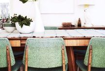 DINING ROOM // SALLE A MANGER / Ideas for dining room and tables  //  Salle à manger