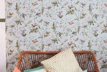 WALLPAPER // PAPIER PEINT / Wallpaper and patterns Papier peint et motifs