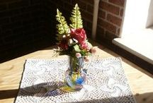Crochet handmade by Elena Shirjaeva /  jewelry, accessories, clothes