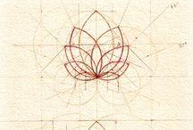 spiraling / spirals, sacred geometry