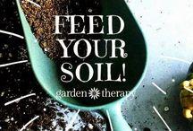 in the garden / gardening