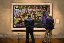 Art Gallery / Art within art