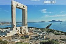 Naxos Town / The capital and main port of Naxos island, Greece.