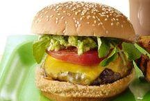 Hamburgers / by Angelica Baca