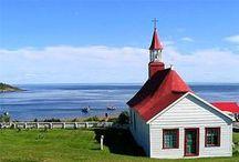 Beautiful chapels in Quebec / Get married in one of the most beautiful chapels in Quebec!  www.scenarioideal.com #wedding #chapel #smallwedding #intimatewedding #romantic #rustic #weddingplanner #weddingdesigner #montrealweddings #quebecweddings