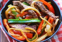 Fajitas / by SALT & PEPPER FUSION #