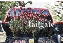 Tailgate Essentials / The Razorbacks, also known as the Hogs, at the University of Arkansas in Fayetteville, Arkansas. Go beast mode at your next #ArkansasTailgates!  @Arkansas Razorbacks / by DeBorah M. Boyd