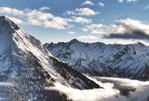 Winter im Zillertal / Winter in den Bergen im Zillertal
