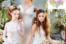 Terry Fox wedding gowns / Terry Fox Couture Wedding Gown Collection at Boho Bride