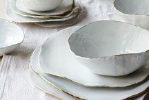 ceramics + linens