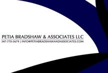 Get To Know Us! / by Petia  Bradshaw & Associates LLC