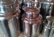 It's about Tea..... / Beautiful tea tins at O-Lijf http://www.o-lijf.com/c-1340824/van-theeblik-tot-theedoos/