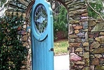 Turquoise Opening  / This Board's idea came from one vision I had recently. I saw Turquoise Door in front of me.  A door is often used to symbolize the passage from one world to another in religion, mythology, and literature. Some say the door means finding your way through life.  Turquoise helps to open the lines of communication between the heart and the spoken word.  It's clear that a door can say a lot and hold a thousand meanings but here is  some turquoise visions.. what's behind them?