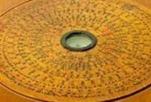 Navigation through cosmos and space / Sun Disc...Compass..