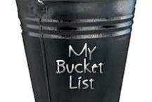 Bucket List / by Nancy Sullivan