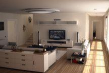 Design - Sufragerie (living) / Idei de design pentru sufragerii
