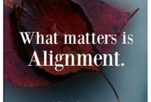 Alignment / by Sara Nelson
