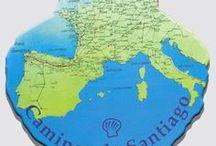 Camino de Santiago, mapas