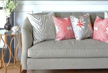 New Living Room / Which color scheme!? / by Andrea Kirby