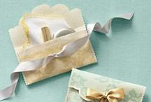 Bridal Shower / Use ribbon as a fun and simple way to spruce up a bridal shower!