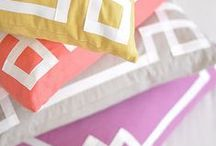 Home Décor / Add your own personal touches to home decor with ribbon.
