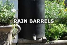 Rain barrels / If you're looking for ways to save on your water bill-and you want to make sure your plants don't suffer in the hot weather-consider old-fashioned technology. Harvest rainwater with rain barrels.