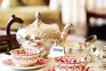Vintage and tea