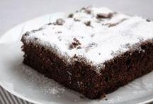 Ciasta czekoladowe i kakaowe / Przepisy z blogów Redaktorów Magazynu kulinarnego GRYZ
