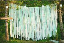 Wedding Ribbon Backdrops