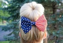 Hairbows / Show off your sassy spirit with any of these hairbows! Young or old, they are a classic accessory!