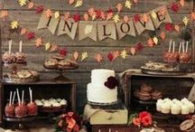 Fall Wedding Ideas / Take a look at these DIY ideas for your Fall Wedding. Plenty of ideas for using ribbon for your wedding decor!