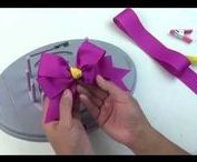 Offray Bow Genius™ Bow Maker / Bow Genius™ is the new ultimate bow maker for making all bows including floral, home décor, and hair bows! Buy the Bow Genius™ here: http://bit.ly/1QuBTUY