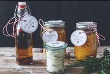 Essen verschenken- DIY / Ideen für Geschenke aus der Küche. Selbstgemachte Geschenke für Weihnachten. DIY
