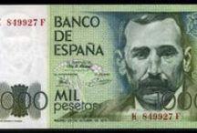 Pesetas / Billetes de España