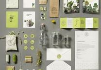 GREEN DESIGN / Green graphic design eco organic