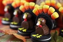 Thanksgiving Treats and Turkey Sweets