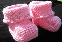 Knitted woolen socks / Knitted watching TV!
