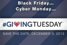 #GivingTuesday / December 3rd is the opening day of the giving season! Keep your eye open for pinned ideas on the many many ways you can give back to your community.
